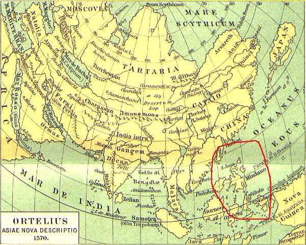 16th century map