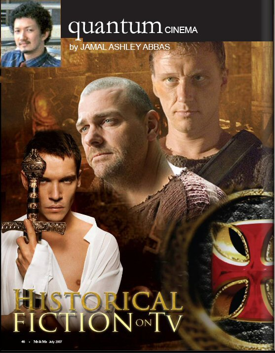 ... on the same subject ? Historical Fiction on TV ? Rome and the Tudors.