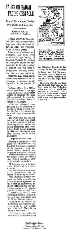 New York Times Oct 25 1964