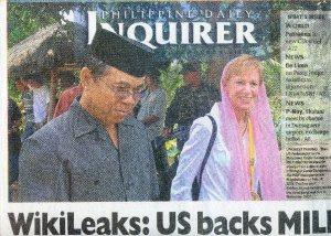 wikileaks headline