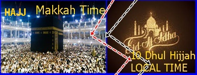makkah and local time 6
